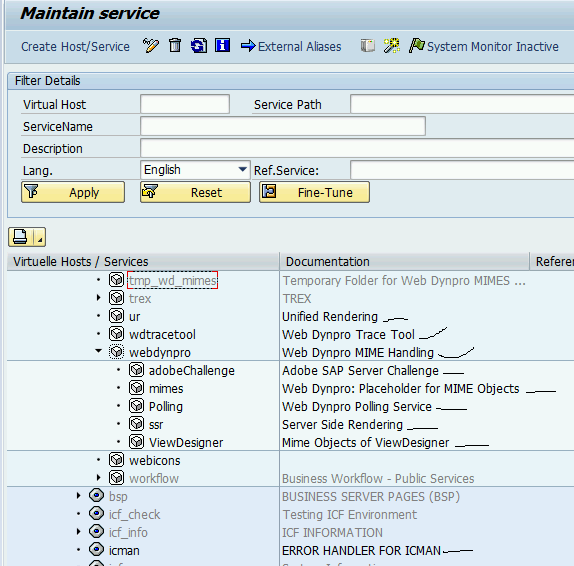 SAP NetWeaver 7 03 ABAP Trial Server: Webservice and SOAP Manager