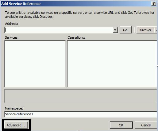 Consume SAP Webservice data with DotNet C# ECMA2 MIM